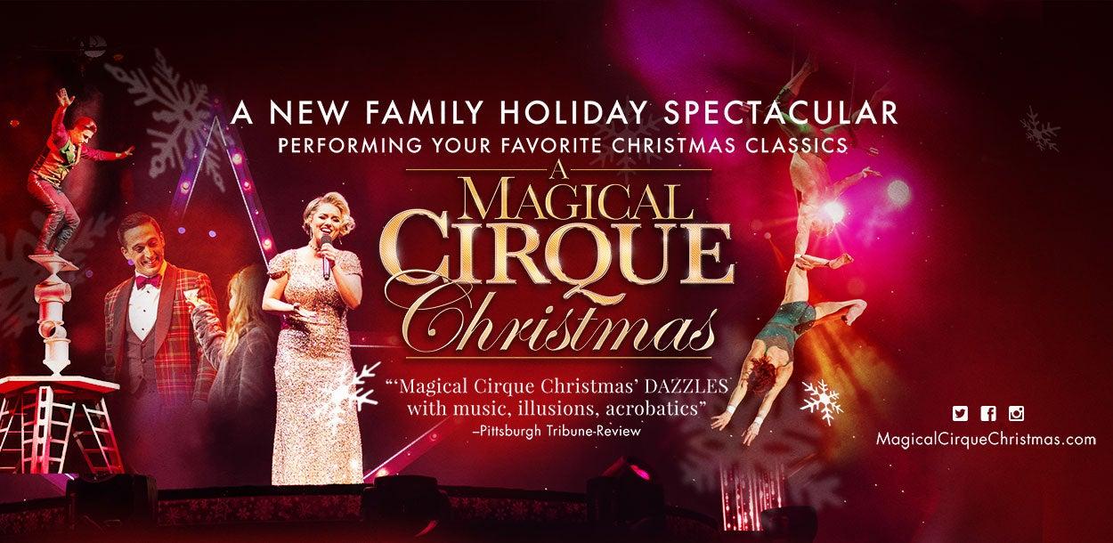 A Magical Cirque Christmas.A Magical Cirque Christmas Cobb Energy Centre