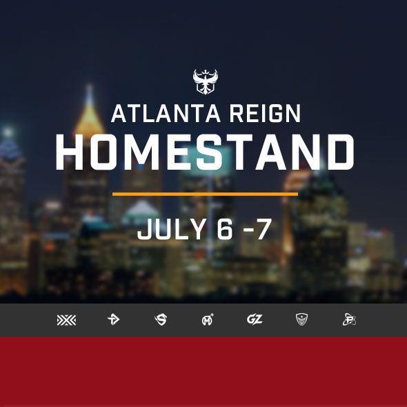 More Info for Atlanta Reign Homestand
