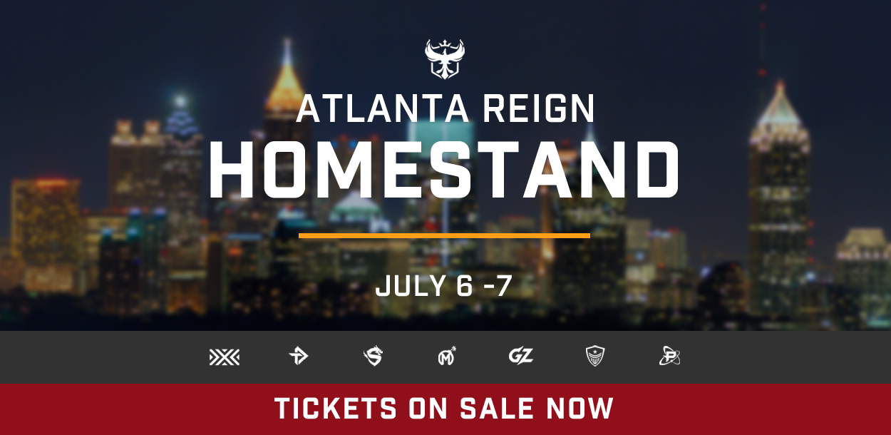 Atlanta Reign Homestand