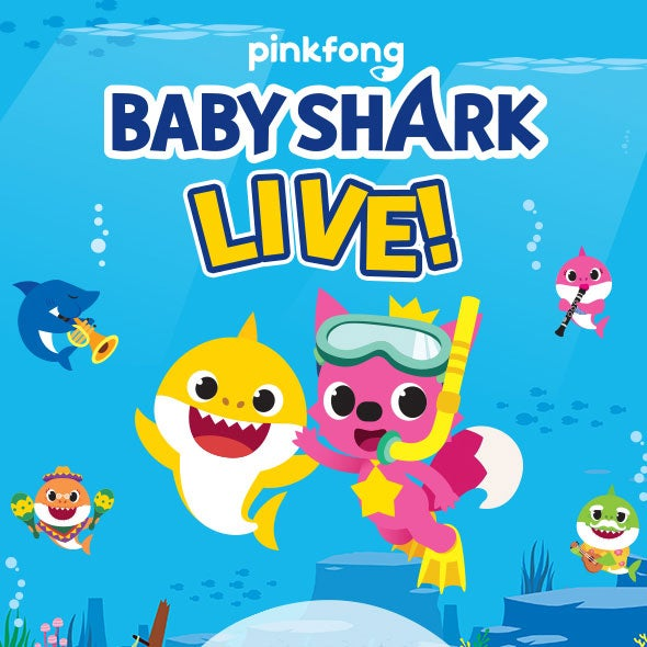 More Info for Baby Shark Live! - NEW DATE!