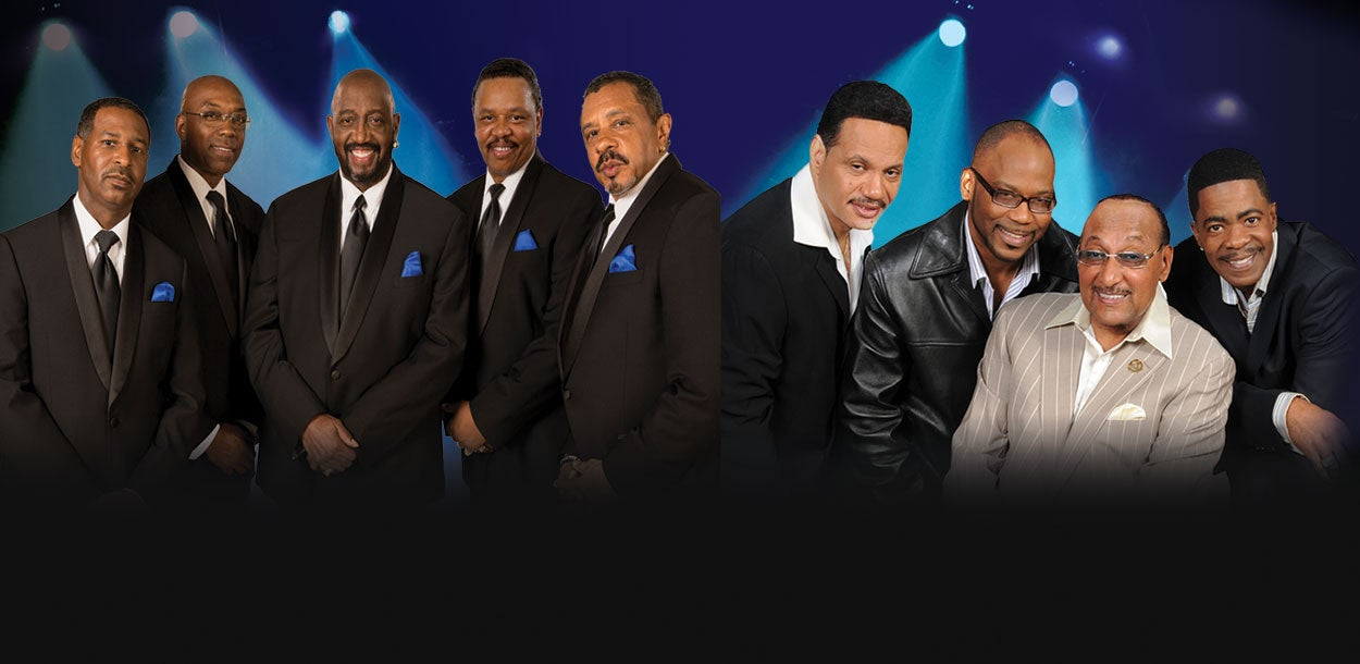 The Temptations & The Four Tops - NEW DATE!