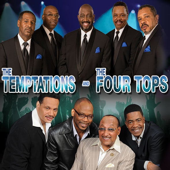 More Info for The Temptations & The Four Tops