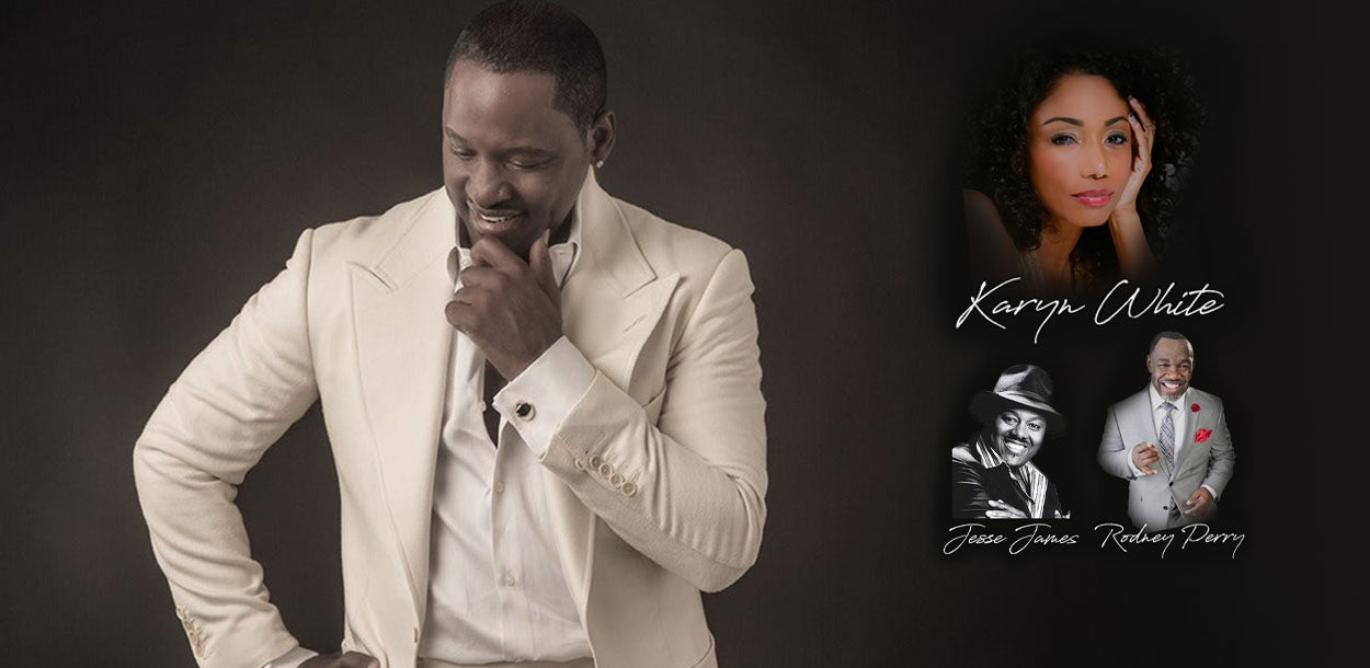 Johnny Gill - NEW DATE!